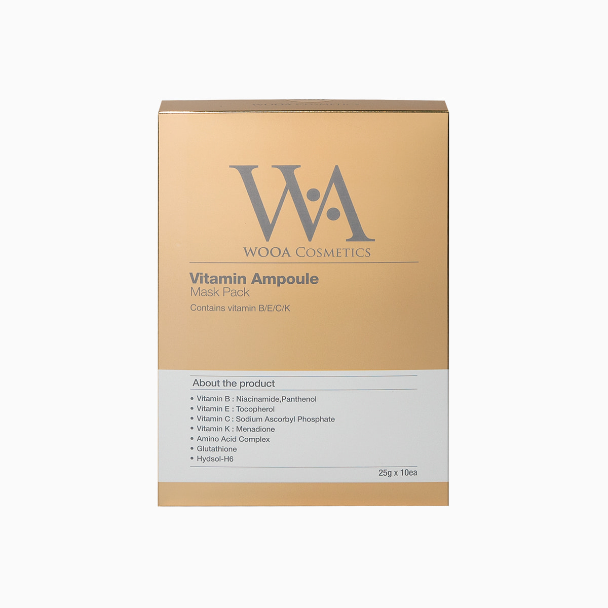 Vitamin Ampoule Mask Pack 25g x 10 1box